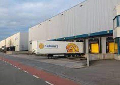 Verbouwing pand Nabuurs Logistics